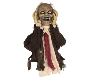 Partyline Halloween decoration moving zombie 55 cm with light and sound