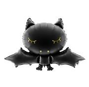Party Deco Ballon en aluminium Halloween chauve-souris 80 cm