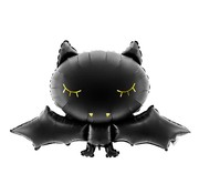Party Deco Halloween folieballon vleermuis 80 cm