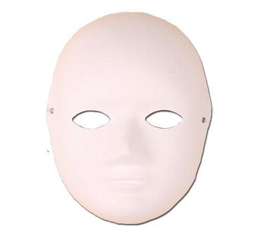 Partyline Mask Paper White Hobby