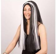 Wig Witch bl+white tress