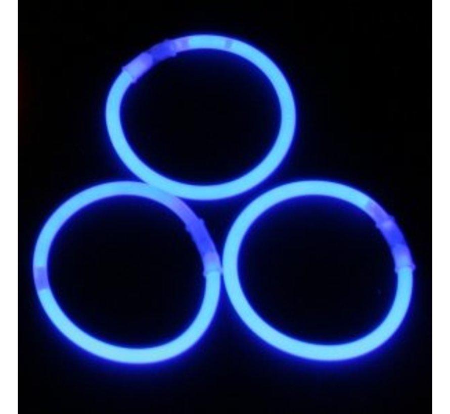 Blue Glow Bracelets