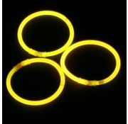 Breaklight.be Yellow glow bracelets