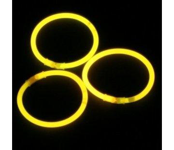 Breaklight.be Yellow glow bracelets