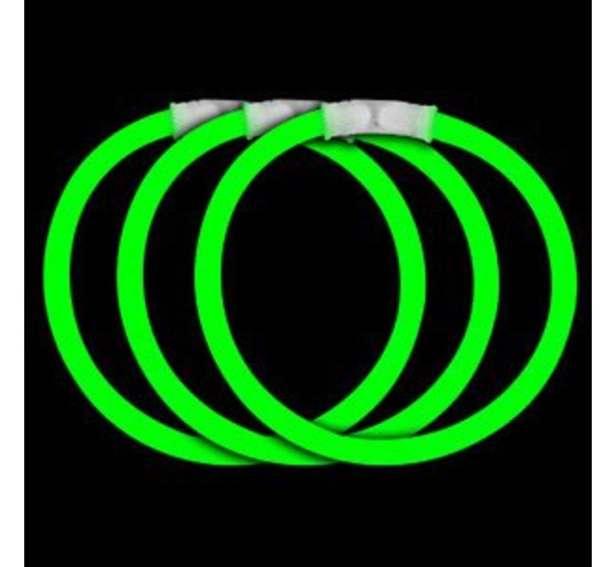 Green glow bracelets
