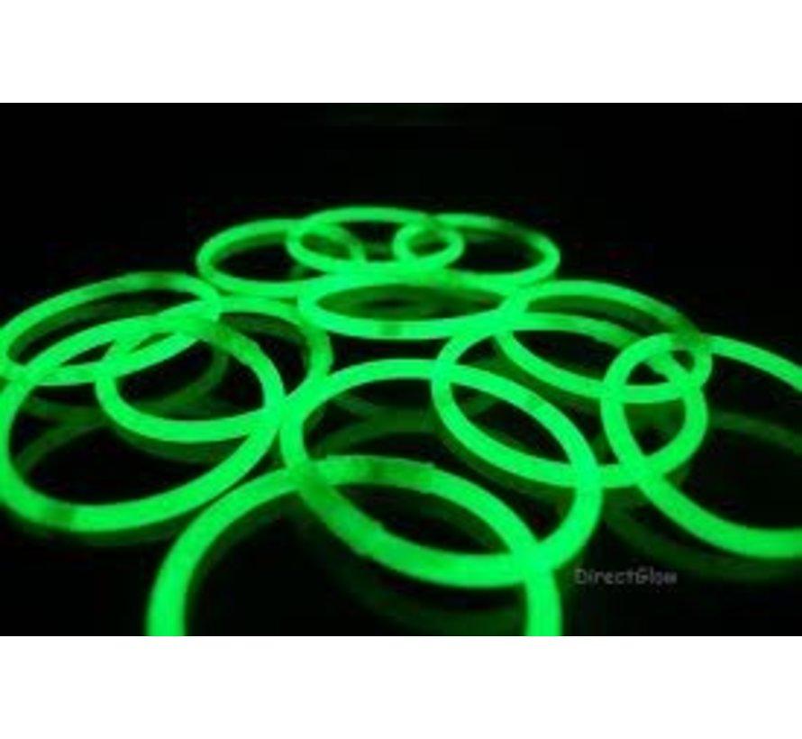 Groene glow armbanden