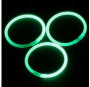 Breaklight.be Green glow bracelets