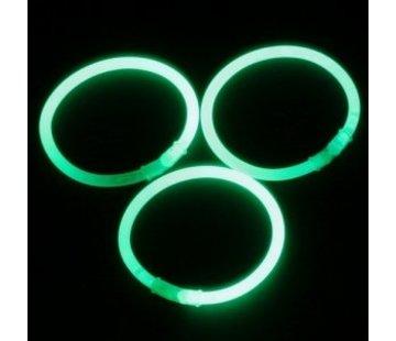 Breaklight.be Green glow bracelets