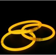 Breaklight.be Orange glow bracelets
