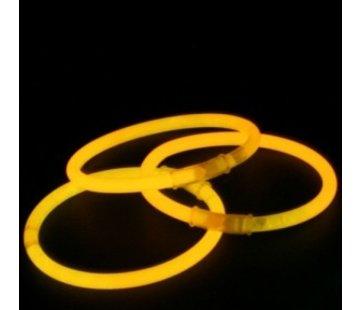 Breaklight.be Orange glow bracelets