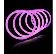 Breaklight.be Pink glow Bracelets