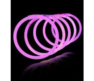 Breaklight.be Pink glow Bracelets