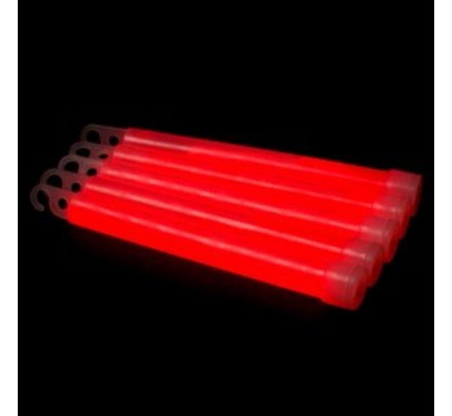 """6"""" Batons Lumineux Rouges"""