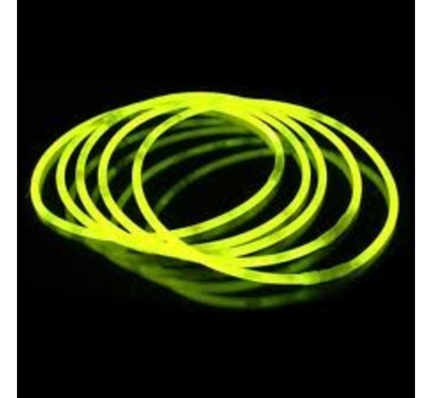 "22"" Glow Necklaces Yellow"