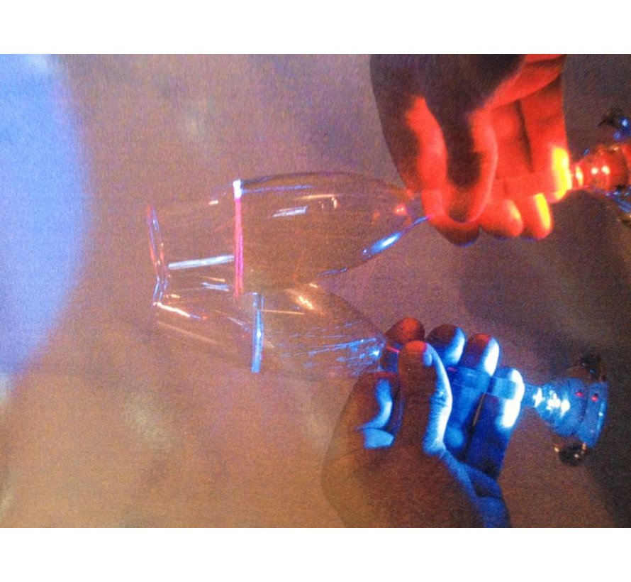 Deluxe Led Champagne glazen ( set4 )
