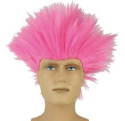 Partyline Wig Electric Shock Pink