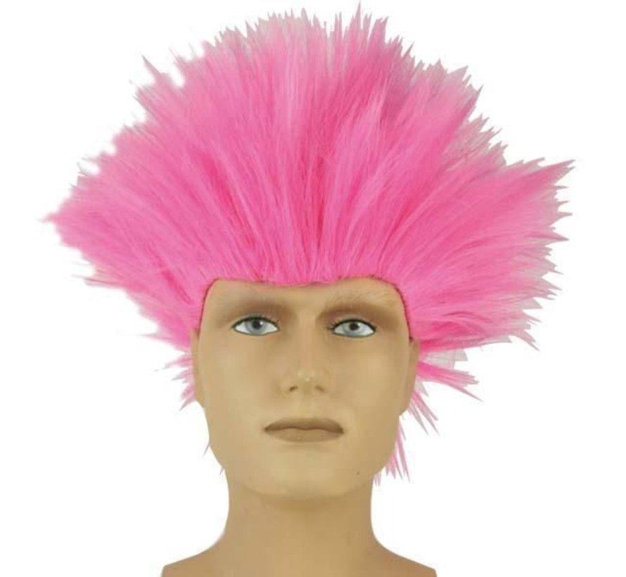 Wig Electric Shock Pink