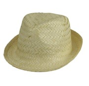 Partyline Straw Hat White