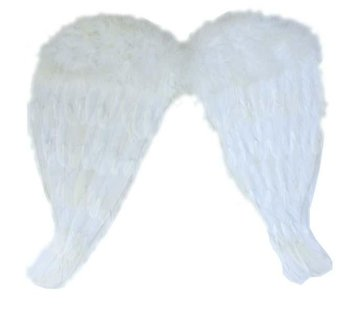 Partyline White Angel Wings