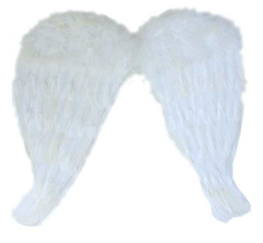 Witte Engelen Vleugels 52x48 cm