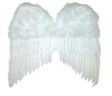 Partyline Ailes blanches 50x42 cm   Ailes d'anges