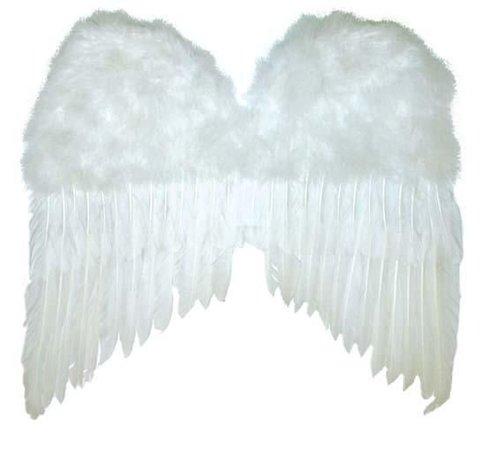 Partyline White Wings 50x42 cm   Angel Wings