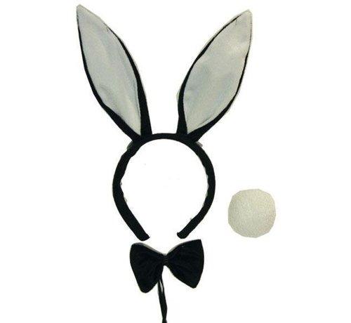 Partyline Set Bunny Black