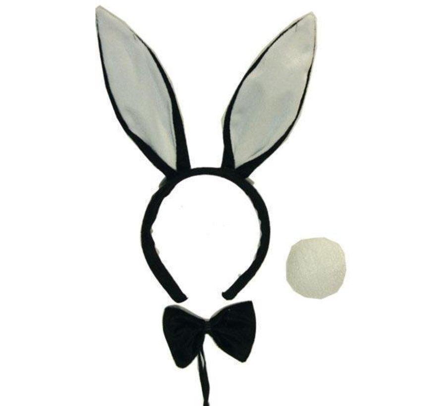 Set Bunny Zwart