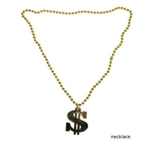 Funny Fashion Dollar Halsketting