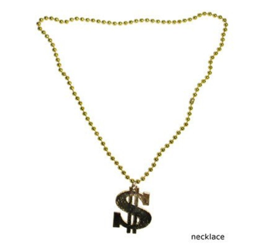 Dollar Halsketting