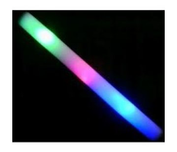 Breaklight.be Foam Stick Multi Color