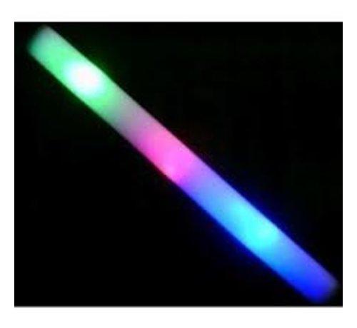Breaklight.be Foam Stick Multi Color