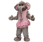 Partyline Kostuum Plush Olifant Big