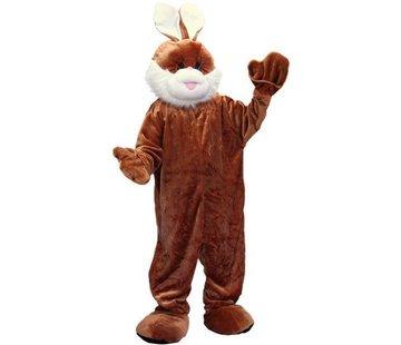 Partyline Costume Lapin Brun en Peluche | Costume de mascotte