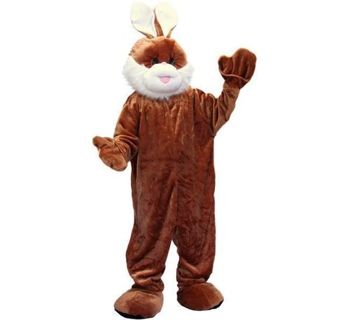 Partyline Costume Plush Brown Rabbit | Mascot Costume