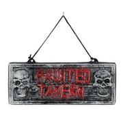 Partyline Deco Sign  'Haunted Tavern' | Halloween Decoration