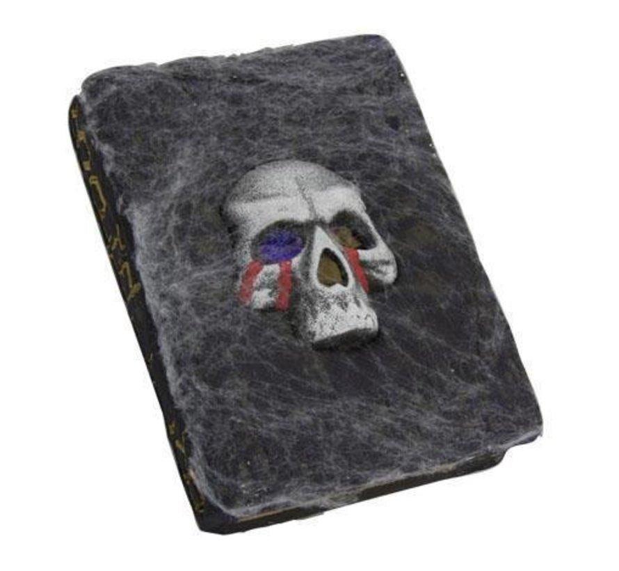 Deco Skull Book + lights
