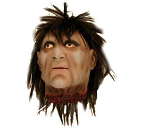 Partyline Afgehakt Hoofd Man | Halloween deco