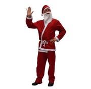 Partyline Basic Kerstman Kostuum | Rood Kerstman pak