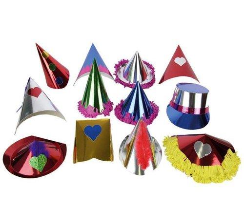 Partyline Feesthoedjes box 72 stuks   Feestpakket