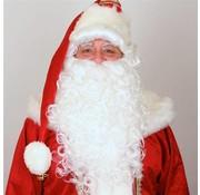 Partyline Pruik + baard Kerstman Luxe