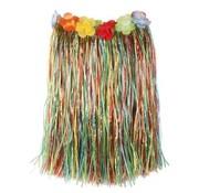 Partyline Raffia Jupe Multi + Fleurs 50cm