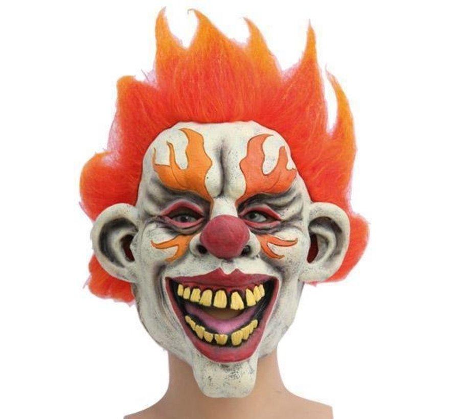 Masque Clown Flamme