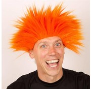 Partyline Wig Electric Shock Orange