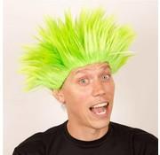 Partyline Perruque Electric Shock vert