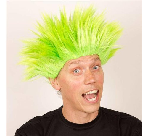 Partyline Wig Electric Shock green