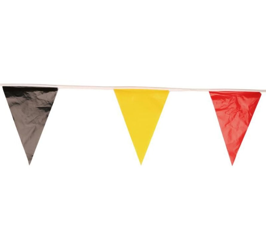 Ligne de drapeau Belgique 10m   Drapeaux belges