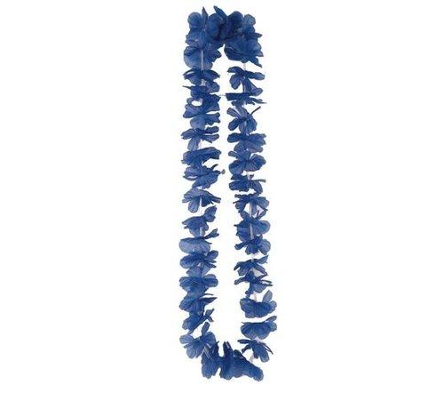 Partyline Collier Hawaiien Bleu