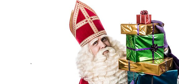 Saint Nicolas arrive !!