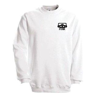 B-Funk Sweater met logo en bedrukking op achterzijde